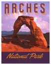 Arches MOAB National Park Art Poster Print