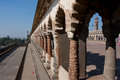 Arches of mughal design shrine Stock Images