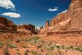 Arches national park moab utah usa Stock Images