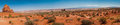 Arches National Park Pano Royalty Free Stock Photo