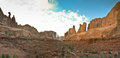Arches national park in utah a scenic view of united states Stock Photography
