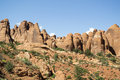 Arches national park utah usa landscape at Royalty Free Stock Photography