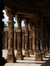 Arches at Qutab Minar,New Delh Royalty Free Stock Images