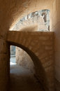Arches of Roman theatre Stock Photography