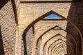 Arches in shiraz iran Royalty Free Stock Photo