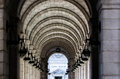 Arches at Union Station, in Washington, DC. Royalty Free Stock Photo