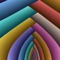 Archi del Rainbow Fotografie Stock Libere da Diritti