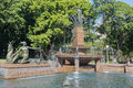 The Archibald Memorial Fountain in Hyde Park North, Sydney, Aust Royalty Free Stock Photo