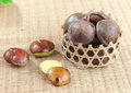 Archidendron Jiringa seed Stock Images