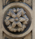 Architectonic decoration a beautiful of a flower Royalty Free Stock Photo
