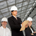Architects at work Royalty Free Stock Image