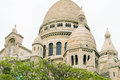 Architectual detail basilica of sacred heart sacre coeur in mont montmartre paris france Stock Photos