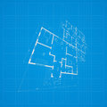 Architectural background. Vector. Royalty Free Stock Photo