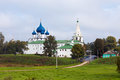 Architectural Complex of the Suzdalian Kremlin. Russia Royalty Free Stock Photo