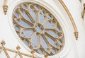 Architectural detail of church Royalty Free Stock Photo