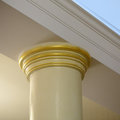 Architectural detail of classic column Royalty Free Stock Photo