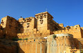 Architectural detail of Jaisalmer Fort Royalty Free Stock Photo