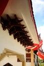 Architectural detail of masjid jubli perak sultan ismail petra a k a masjid beijing kelantan malaysia – march located in rantau Stock Image