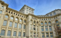 Architectural detail of parliament palace bucharest romania Royalty Free Stock Photography