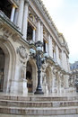 Architectural details of Opera National de Paris - Grand Opera, Paris, France Royalty Free Stock Photo