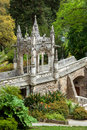 Architectural element quinta da regaleira palace in sintra l ornamental the park lisbon portugal europe Stock Photography