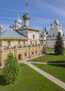 The architectural ensemble of the rostov kremlin russia Royalty Free Stock Images