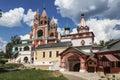 The architectural ensemble of the Savvino-Storozhevsky monastery in Zvenigorod. Moscow region Royalty Free Stock Photo