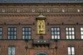 Architectural fragment of Copenhagen City Hall