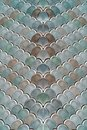 Architectural Mesh Detail With Fish Scales Texture Royalty Free Stock Photo
