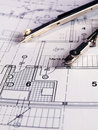 Architectural plan Stock Photos