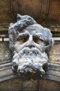 Architectural Stone Male Head ...