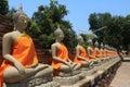 The Architecture Buddha. Royalty Free Stock Photo