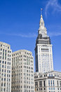Architecture of Cleveland Royalty Free Stock Photo