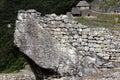 Architecture Detail Inca Ruins Machu Picchu Peru South America Royalty Free Stock Photo