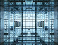 Architecture detail Modern Building with Glass Facade Royalty Free Stock Photo