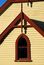 Architecture detail-Old Church Stock Image