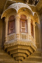 Architecture detail of patwa haveli in jaisalmer iindia rajasthan Stock Photography