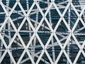 Architecture detail Steel Pattern design Facade Modern building Exterior Royalty Free Stock Photo