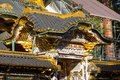 Architecture details of buddhist temple Royalty Free Stock Photo