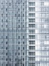 Architecture details glass facade modern building exterior Royalty Free Stock Photo