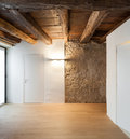Architecture, Hall Of A Rustic...
