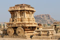 Architecture indienne dans Hampi Image stock