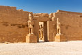 Architecture of karnak temple in luxor ancient egypt Royalty Free Stock Image