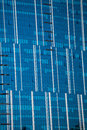 Architecture of kiev close up a mirrored facade modern building Royalty Free Stock Image