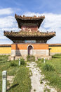 Architecture of Monastery in Mongolia