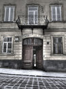 Architecture of old Lvov Royalty Free Stock Photography