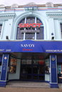 Architecture p img opened in november the savoy is the oldest continuous running cinema in the uk owned by merlin cinemas the Royalty Free Stock Photos