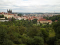 Architecture of prague beautiful architectural buildings in the czech capital Royalty Free Stock Photo