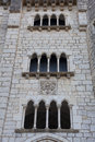Architecture of rocamadour lot midi pyrenees france Royalty Free Stock Photography