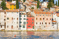 Architecture of rovinj croatia istria touristic attraction Royalty Free Stock Photo